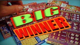BIG SHOCK WINNER...FAST £500..£4 MILLION RED..5X CARDS..BINGO...LUCKY LINES...LATE NIGHT CLASSIC.