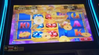 DAWN of ANDES Slot Machine Bonus - Konami