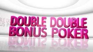 Win at Double Double Bonus Poker with Slots of Vegas Free Video Tutorial