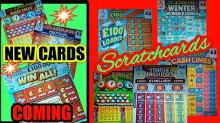 CRACKER OF GAME.Triple Jackpot..£100 LOADED..Lucky Lines..WONDERLINES..Bingo (MORE NEW CARDS COMING)