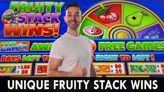 Super UNIQUE Fruity Stack WINS  Choctaw Casino  Durant Oklahoma  #ad