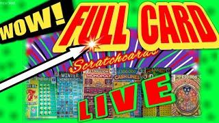"""WOW!...WHAT A FANTASTIC SCRATCHCARD GAME """"L I V E"""".WOW!.WhoooOOOO..Even the Viewers can Choose Cards"""