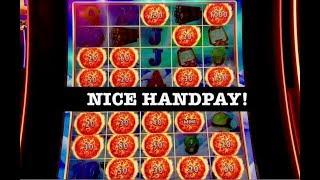 •HANDPAY ULTIMATE FIRE LINK GLACIER GOLD •LIGHTNING LINK HIGH STAKES SLOT MACHINE