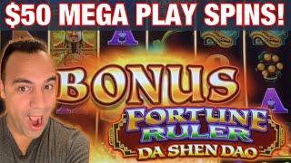 $50 FORTUNE RULER MEGA PLAY BETS!! | REEL RICHES HUGE REEL BONUS!!