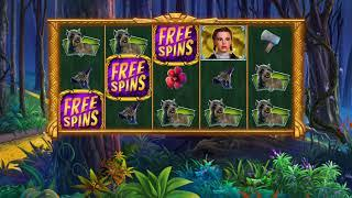 THE WIZARD OF OZ COWARDLY LION Video Slot Casino Game with a BIG WIN FREE SPIN BONUS