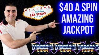 Thunder Cash Slot HANDPAY JACKPOT | Winning On Slot Machines | SE-4 | EP-23