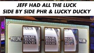 $10 MAX BET LUCKY DUCKY & POLAR HIGH ROLLER VGT SLOT AT CHOCTAW DURANT + $15 BET PIECES OF EIGHT