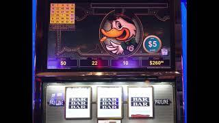 """VGT Slots   $50 Spins """"Lucky Ducky""""  Choctaw Casino Durant, OK.  JB Elah Slot Channel"""