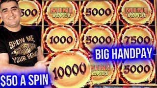 Dragon Cash Slot HUGE HANDPAY JACKPOT | Winning Big Money On Slot Machines