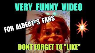 "ALBERT..LOVES ADVERT....THIS VERY FUNNY VIDEO..IS FOR""ALBERT""..FANS ONLY...FANTASTIC ALBERT"