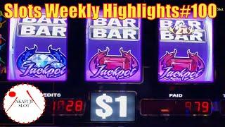 Slots Weekly Highlights#100 for You who are busyBig Win - High Limit Blazin Gems Slot 赤富士スロット あかふじ