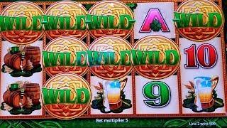 WILD Lepre'COINS Slot Machine BIG WIN LINE HIT   + Wonder 4 Tower WILD Lepre'COINS Live Play