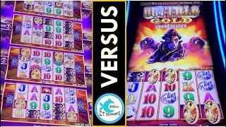 WHICH BUFFALO IS BETTER? SUPER FREE TOWER GAMES VS. SINGLE SCREEN, BIG WIN ON BUFFALO GOLD!