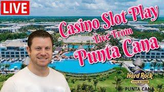 Live Slot Play from The Caribbean  at Hard Rock Punta Cana!