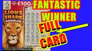 AMAZING..BIG WIN ON FULL CARD....LION SHARE DOUBLER..MONEY KINGDOM..MONEY SPINNER..WADS IN WALLET