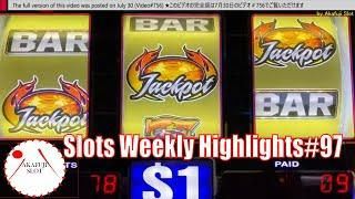 Slots Weekly Highlights#97 for You who are busyHigh limit Lightning Cash Jackpot Tiki Fire Slot