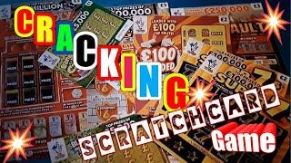 •It a Cracker of a Scratchcard game•MONOPOLY•SUPER 7s•£100 Loaded•Money KINGDOM•