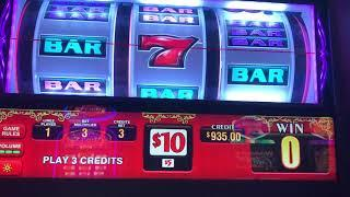 Wheel Of Fortune $10 & $100 Machine - Pinball $30/Spin - High Limit JACKPOT HANDPAY