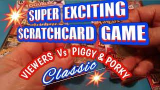 Wow!...Super Scratchcard game Fruity Fortune BINGO..Cash Vault...Gold Fever...etc.mmmmmmMMM..says