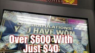 •Making It Rain• *PA Skills* Winning Over $600 With Just $40* PA Skills Scotty Style* Big Wins