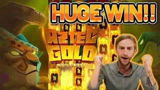 HUGE WIN! AZTEC GOLD BIG WIN - CASINO Slot from CasinoDaddys LIVE STREAM