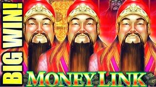 BIG WIN!! FULL SCREEN LOCKED & LOADED! MONEY LINK : THE GREAT IMMORTALS Slot Machine (SG)
