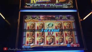 Dynasty Riches Slot Machine Bonus - Konami