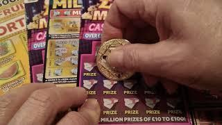 •Wow!•9,300+ SUBSCRIBERS SPECIAL•£100,00 •worth•£4 Million Scratchcards & £5 cards•Wow!•