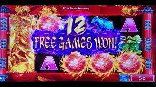 Opulent Phoenix Slot Machine Bonuses Won ! FIRST ATTEMPT ,Konami Slot Machine