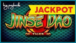 JACKPOT HANDPAY! Jinse Dao Tiger Slot - WHOA, THAT JUST HAPPENED?!