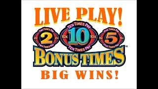 High Limit Quick Hits Bonus Times! High Limit Big Wins! Max bet high limit!