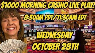 $1000 Morning Live Casino Play