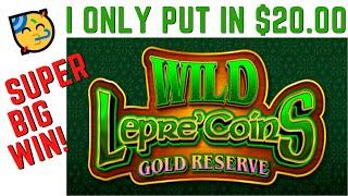 WILD LEPRE'COINS GOLD RESERVE SLOT POKIE