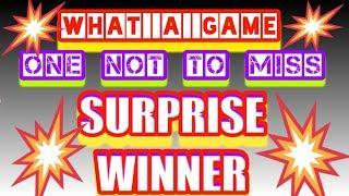 One to Watch.....WINNER.....Scratchcards Game.....WhooooOOOOOOO