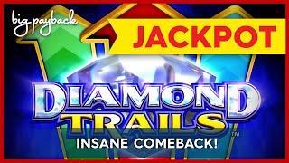 JACKPOT HANPAY! Diamond Trails Safari Winnings Slot - UNIMAGINABLE COMEBACK!