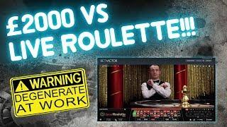 £2,000   Roulette! This is Speed Roulette Live!