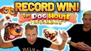 RECORD WIN!!!! DOG HOUSE 2 MEGAWAYS BIG WIN - EXCLUSIVE Casino Slot from Casinodaddy LIVE STREAM