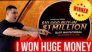 I Won On $1,000,000.00 Tournament ! $125 A Spin Big Handpay Jackpot On Lightning Link Slot