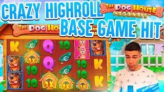 HIGHROLL DOG HOUSE MEGAWAYS HUGE BASE GAME HIT   BIG WIN ON PRAGMATIC PLAY ONLINE SLOT MACHINE