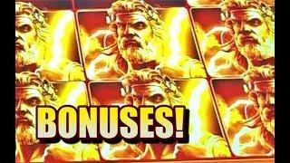 Zeus Unleashed, Raging Rhino, Game of Life Slots