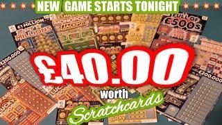 £40 worth..of Scratchcards....New Game STARTS today...Here We GoooooOOOOO