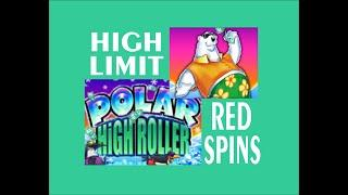 9 Line VGT Polar High Roller High Limit Red Spins!