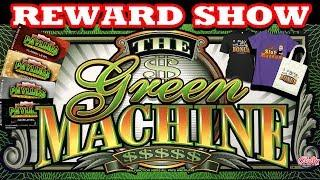 THE GREEN MACHINE    PAYLINES SLOT MUSEUM REWARDS GIVEAWAY  HAPPY MOTHERS DAYS