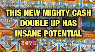 NEW MIGHTY CASH DOUBLE UP HAS INSANE POTENTIAL! BIG WINS! CHOCTAW CASINO DURANT OKLAHOMA