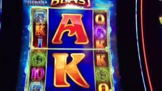 Dragon Spin Slot Machine Reel Blast Free Spin Bonus SLS Casino Las Vegas