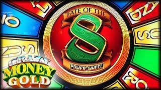 NEW SLOTS!  Fate of the 8  Crazy Money Gold  The Slot Cats