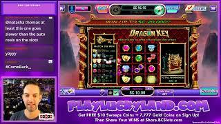 LIVE SLOTS - Luckyland Social Casino with $1,000 - Brian Christopher Slots #AD