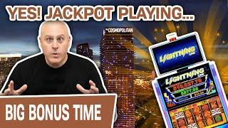 YES! Las Vegas Slots = JACKPOT  High-Limit Lightning Link for the Win!