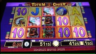 Totem Chief Plus Risikospiel um den Geldgewinn mit bis zu 2€ Spieleinsatz! Merkur Magie