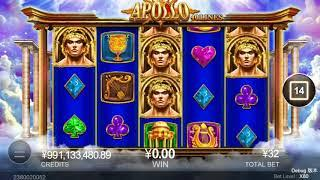 Apollo slots - 25 spins - $120 win!